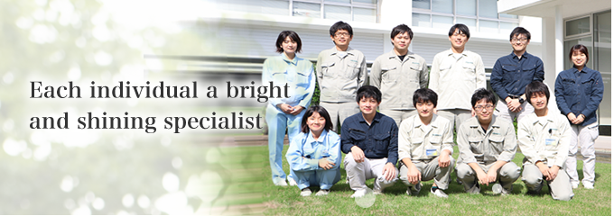 Each individual a bright and shining specialist